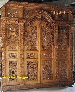 Pintu Full Ukiran Tipisan 250cm
