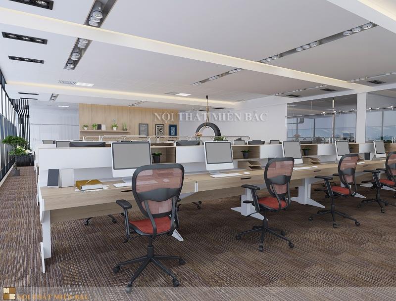 Thiết kế nội thất văn phòng cao cấp - Không gian phòng làm việc hiện đại