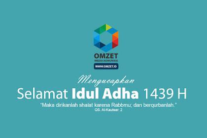 Selamat Hari Raya Idul Adha 1439 H - 2018