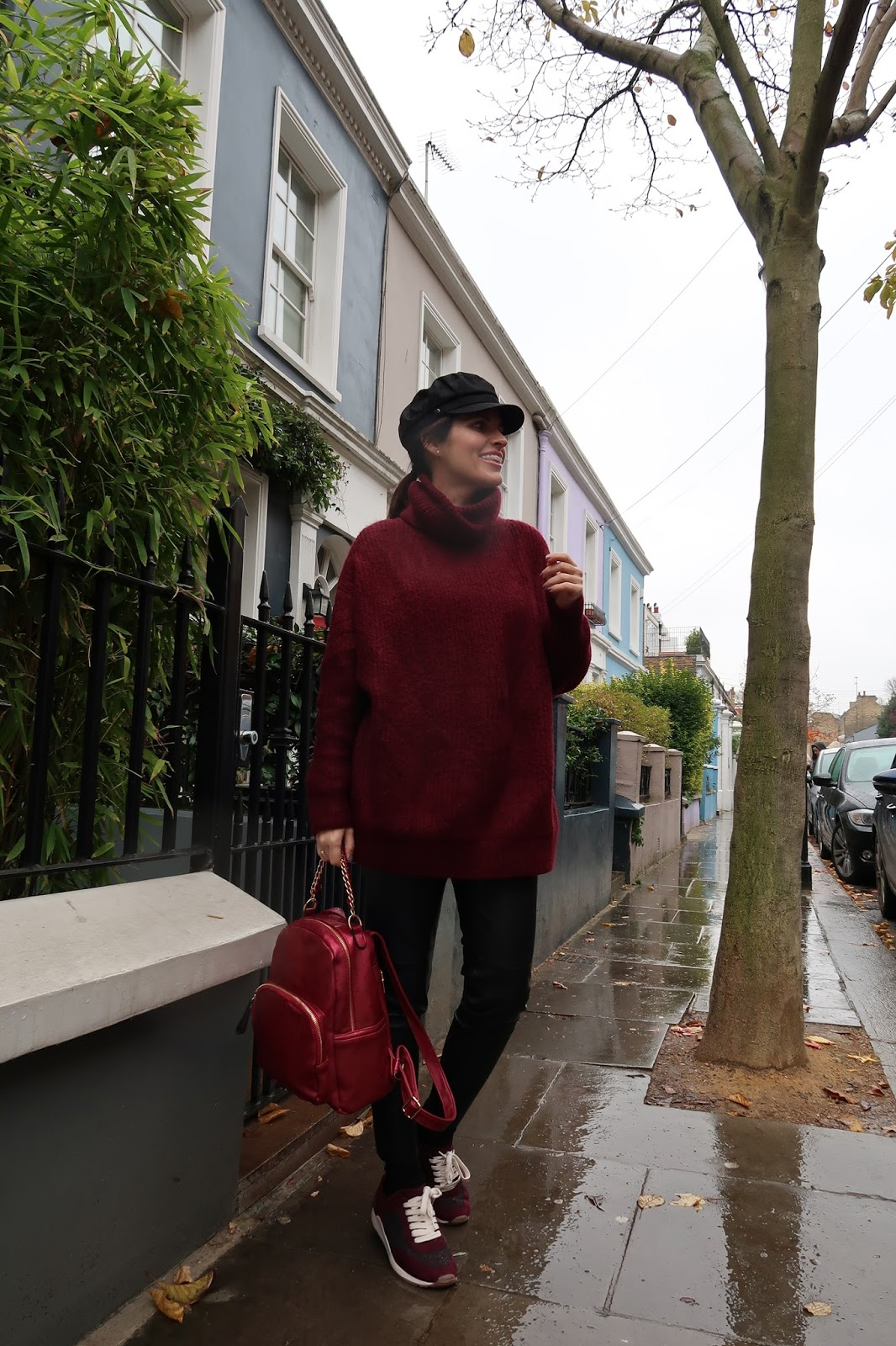 zara-burgundy-sweater-notting-hill