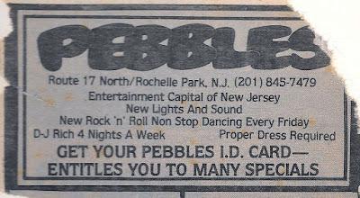 Pebbles rock club