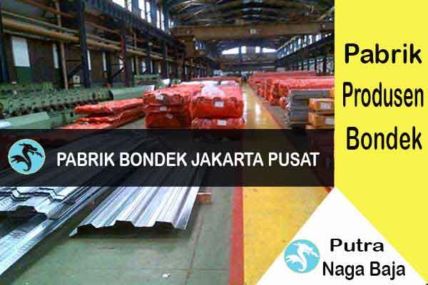 Pabrik Bondek di Jakarta Pusat