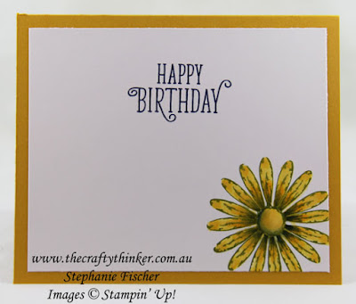 Daisy Delight Bundle, Swirly Scribbles, #thecraftythinker, Stampin' Up Australia Demonstrator, Stephanie Fischer, Sydney NSW