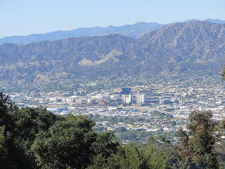 View north toward Burbank from the east ridge of Mt. Chapel