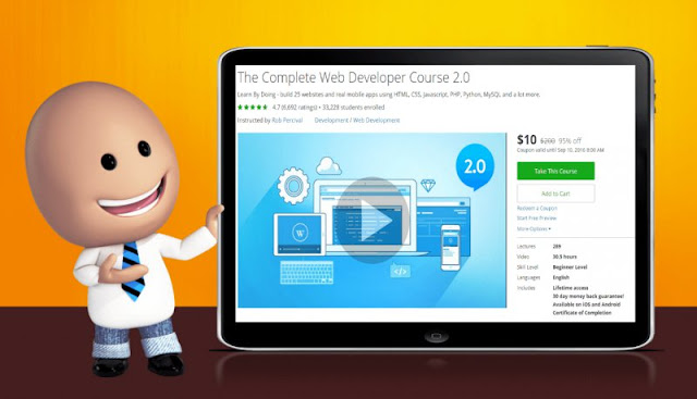 [95% Off] The Complete Web Developer Course 2.0| Worth 200$