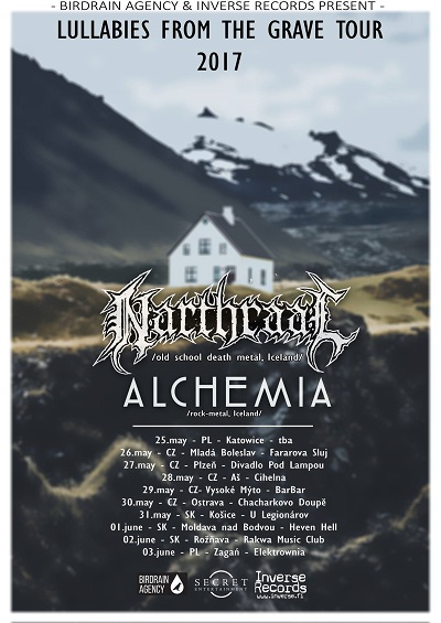 NARTHRAAL and ALCHEMIA tour 2017