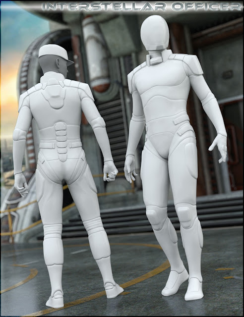 HFS Interstellar Officer for Genesis 3 Male