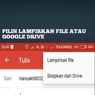 Mengirim Dokumen Video Lewat Email