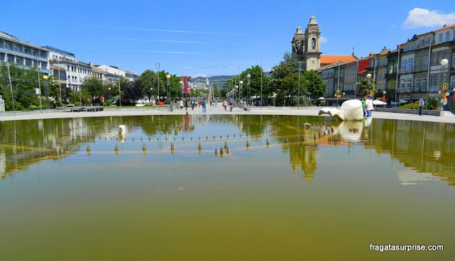 Praça da República, Braga, Portugal