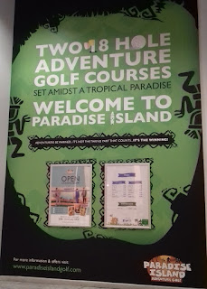 Paradise Island Adventure Golf in the Trafford Centre, Manchester