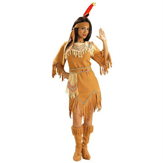 Womens Native American Maiden Costume