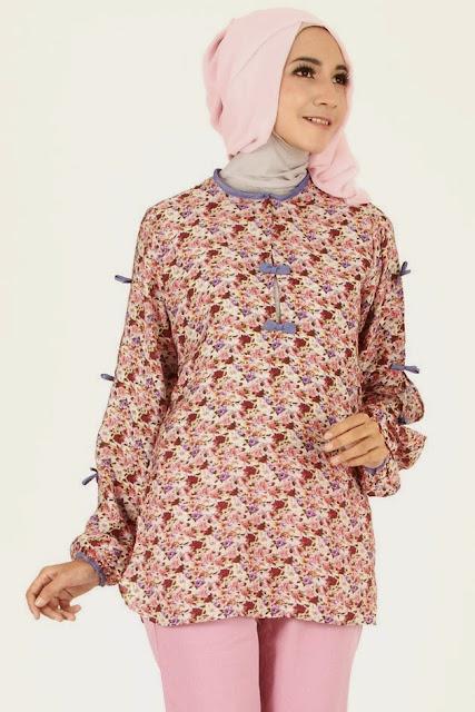 Gambar Baju Muslim Batik Paling Populer 2015