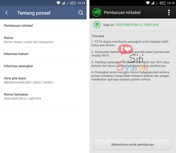 haruskah android di upgrade