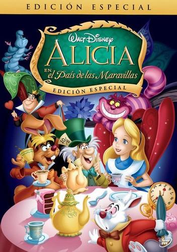 Alicia en el país de las maravillas (1951) [DVDrip Latino] [Animación]