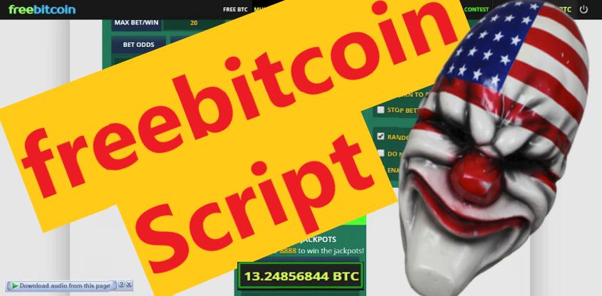 freebitcoin Script Bitsler Script Luckygames Script Working