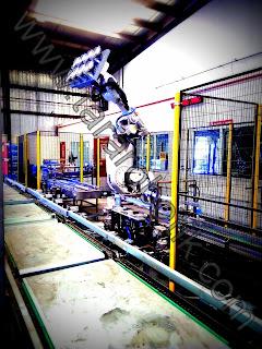 Damacana Viyol Paletleme ve Depaletleme Robotu