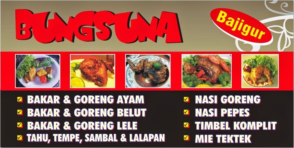 Aneka Inspirasi Desain Grafis 5 Banner Ayam Bakar