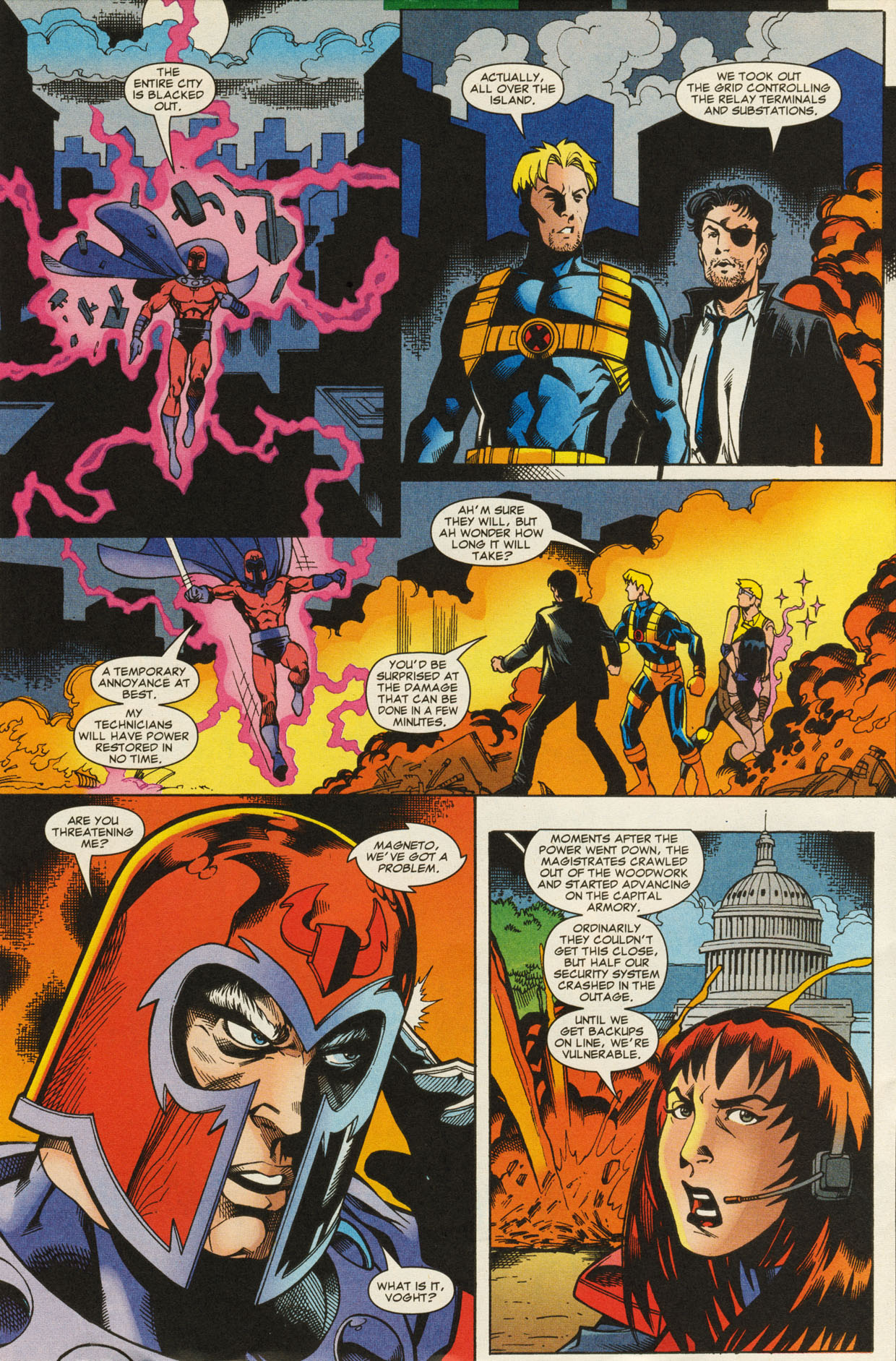 Read online X-Force (1991) comic -  Issue #95 - 25