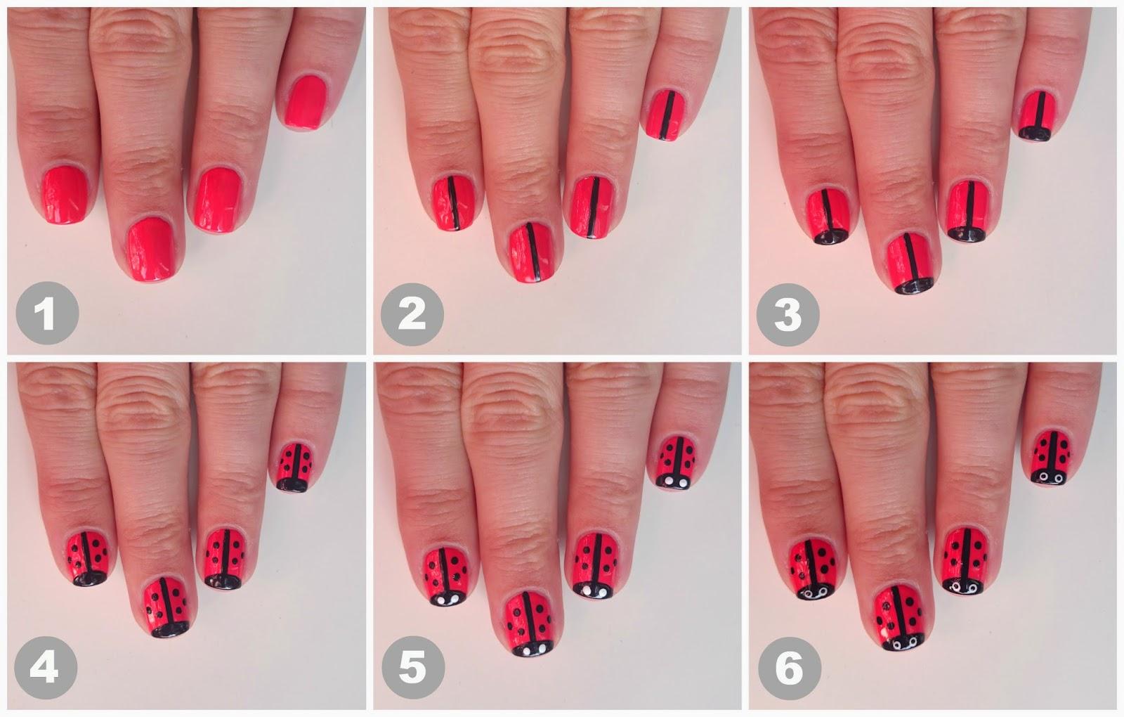 Dahlia Nails: Little Ladybirds Tutorial