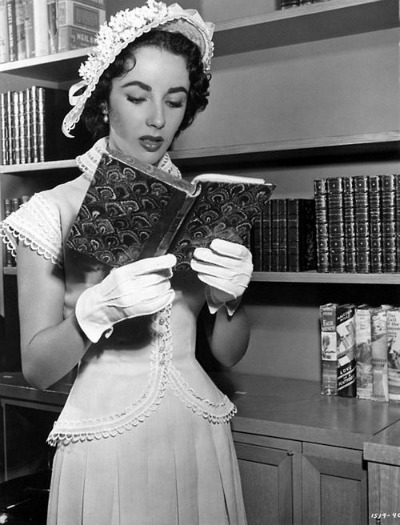 """Elizabeth Taylor in Helen Rose Designed Suit for 1951's  """"Father's Little Dividend"""""""