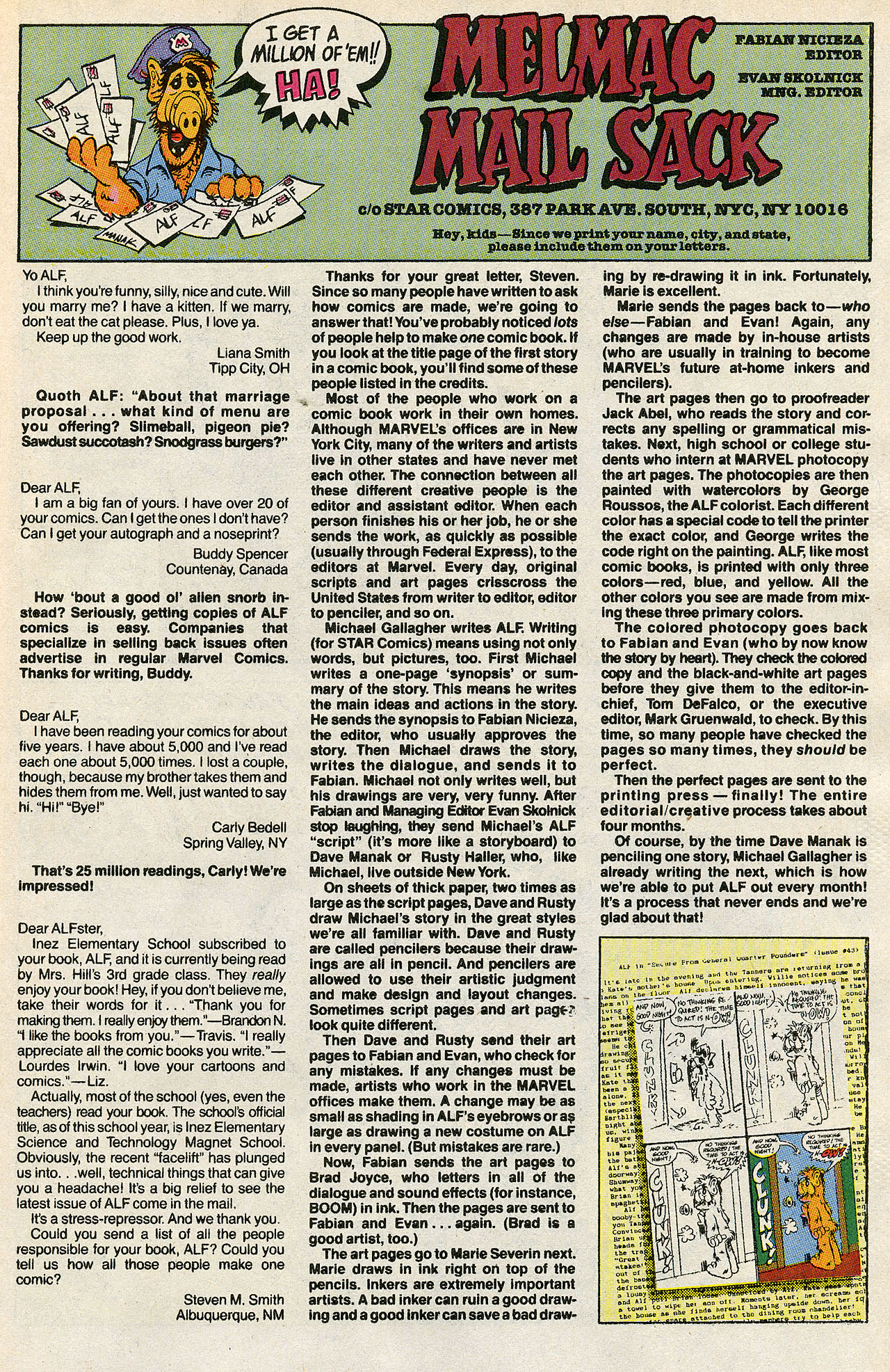 Read online ALF comic -  Issue #43 - 34