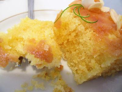 Kolač od pure i limuna / Lemon corn bread cake