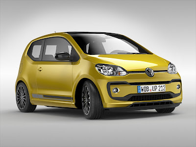 Volkswagen Up! front hd image