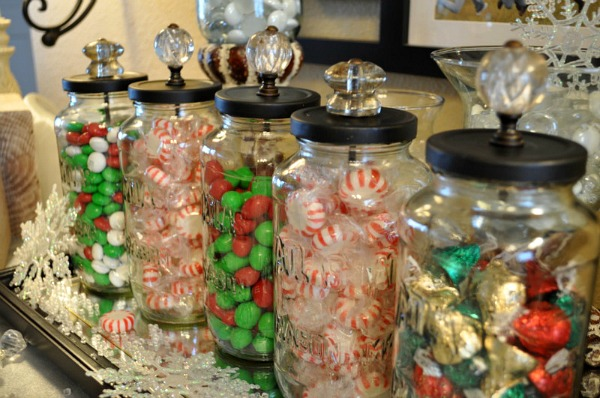 Christmas Candy Jars - Featured