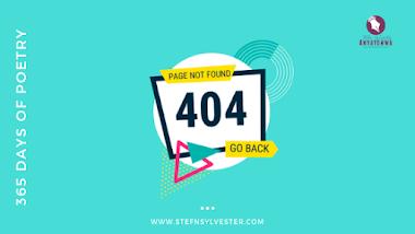 Error 404 | Stefn Sylvester Anyatonwu