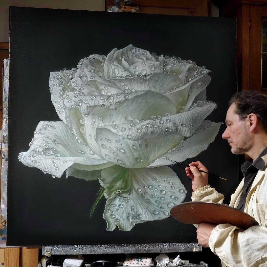 04-Gioacchino-Passini-Realistic-Paintings-of-Flowers-and-Roses-www-designstack-co