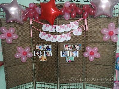 Decoration background, photobooth