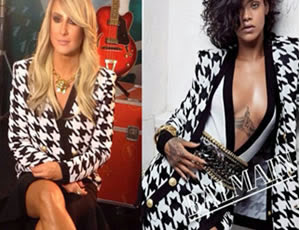 Claudia Leitte utiliza mismo estilo Rihanna en The Voice Brasil
