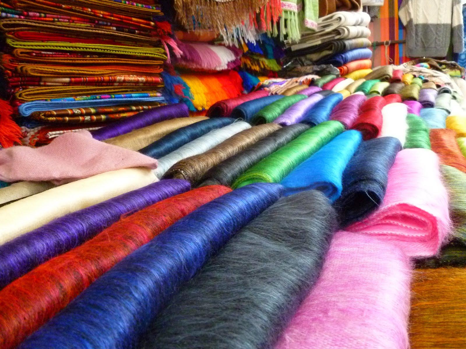Market w Otavalo