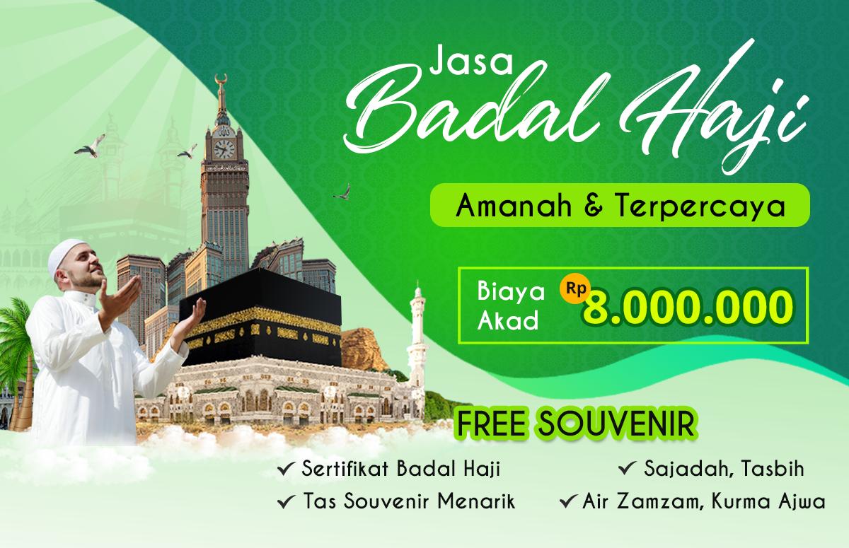 Biaya Badal Haji 2020 Jasa Resmi Amanah Bersertifikat