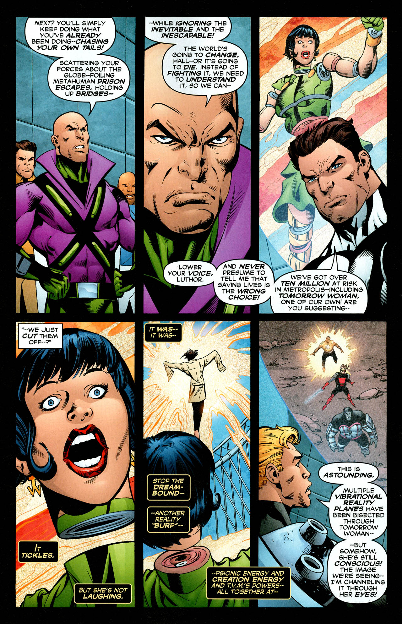Read online Trinity (2008) comic -  Issue #29 - 16