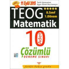 Farklı Bakış 8.Sınıf TEOG Matematik 1.Dönem Deneme Sınavı (2016)