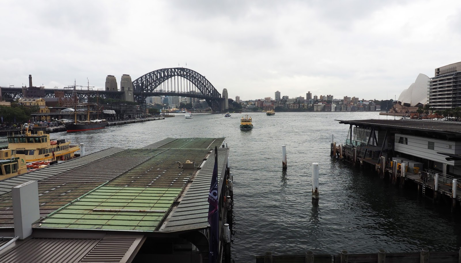 Circular Quay and Sydney Harbour Bridge