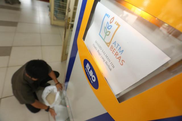 Keren, Ternyata Ada ATM Beras, Inovasi Bulog Distribusikan Beras Harga Murah