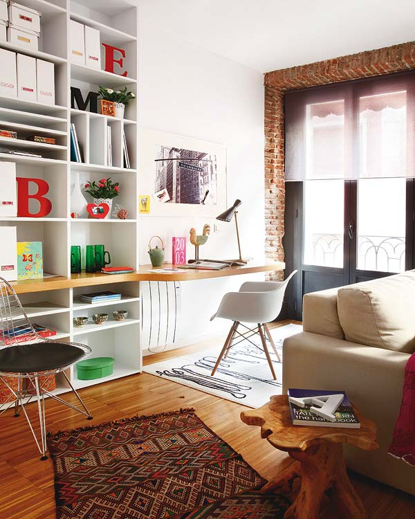 Beautiful Apartments: OHM: Beautiful, Small Apartment In Madrid