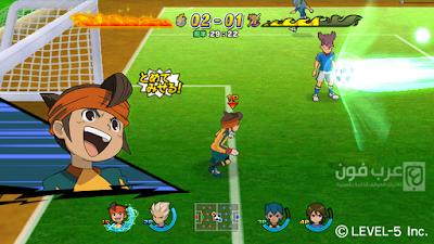 تحميل لعبة ابطال الكرة inazuma eleven strikers للاندرويد