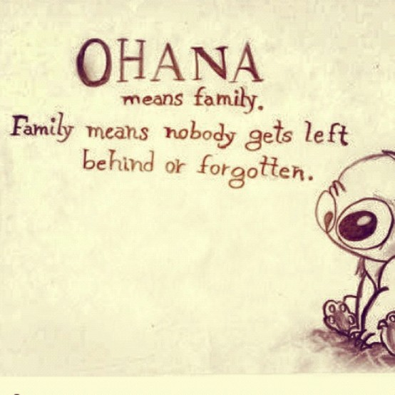 stitch ohana quote wallpaper - photo #23