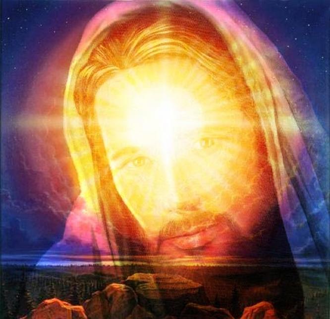 Jesus luz dourada