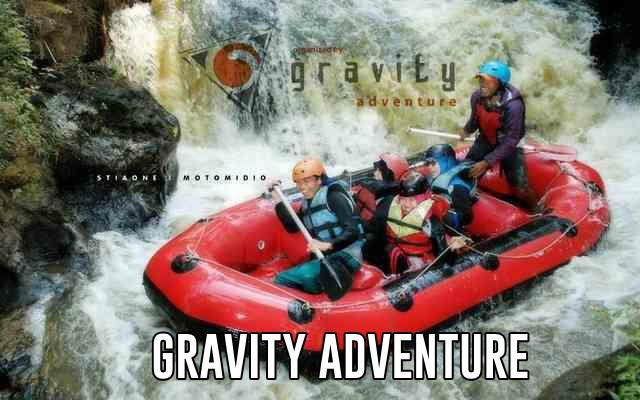 Rafting di Gravity Adventure Situ Cileunca Pangalengan
