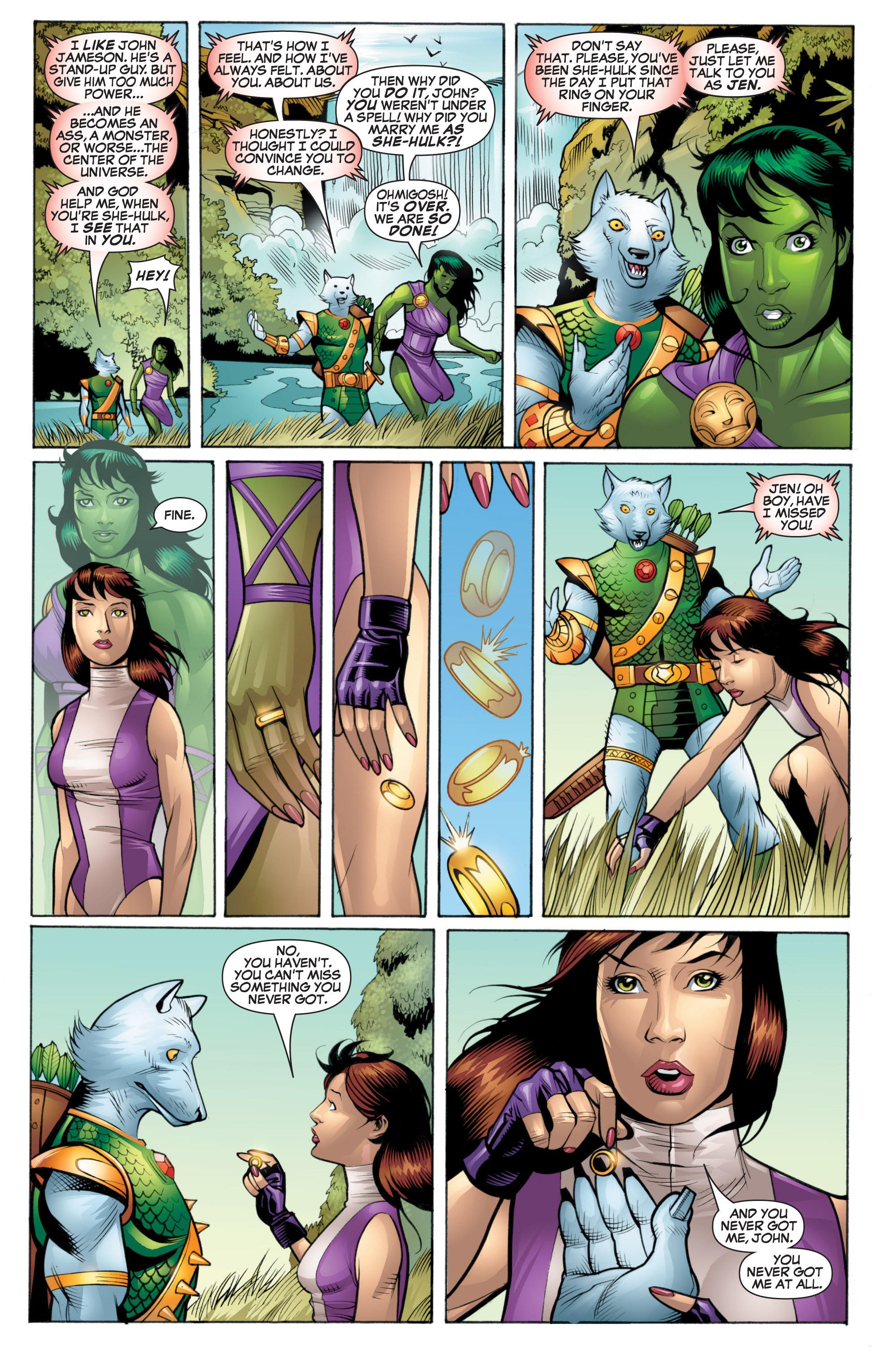Read online She-Hulk (2005) comic -  Issue #20 - 17