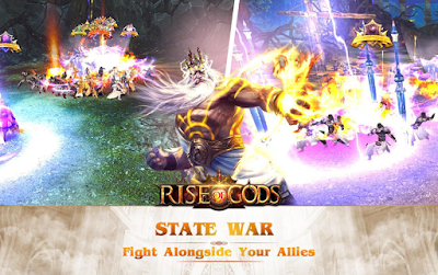 Download game Rise of Gods A saga of power and glory APK gratis