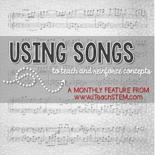 If you aren't using music in the classroom yet, you should be! Songs are a great strategy for teaching science concepts and vocabulary. A catchy tune will help those concepts stick.