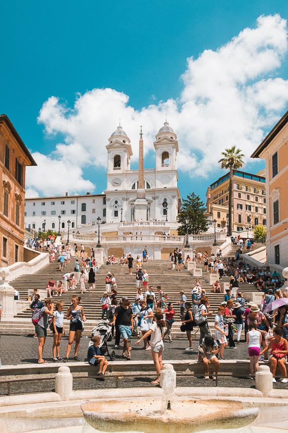 Plaza de España. 20 cosas que saber de Roma.