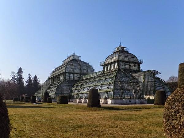 Vienne Wien Schönnbrunn château Habsbourg serres palmenhaus