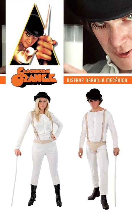 Clockwork orange costume