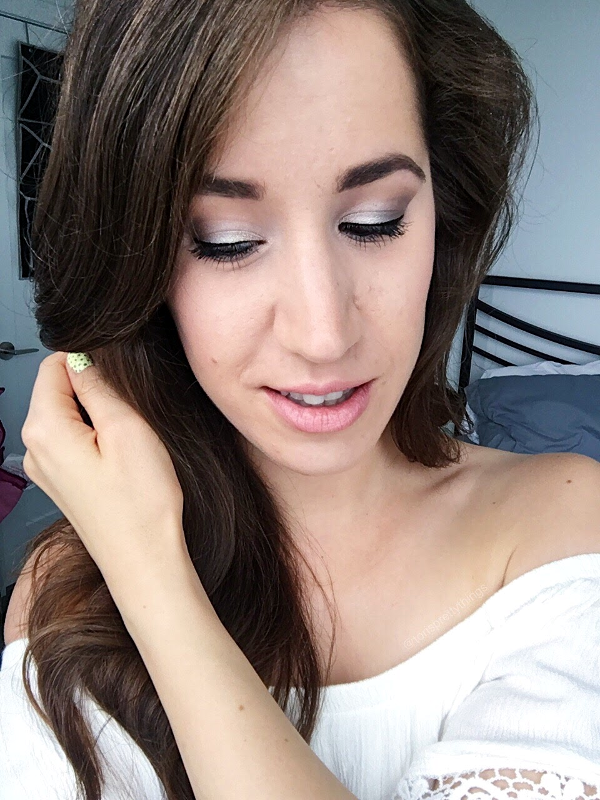 Summer Date Night Makeup Look 2017 - Tori's Pretty Things Blog